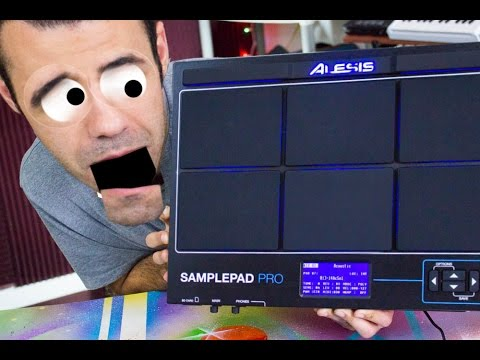 Alesis SamplePad Pro Review - YouTube