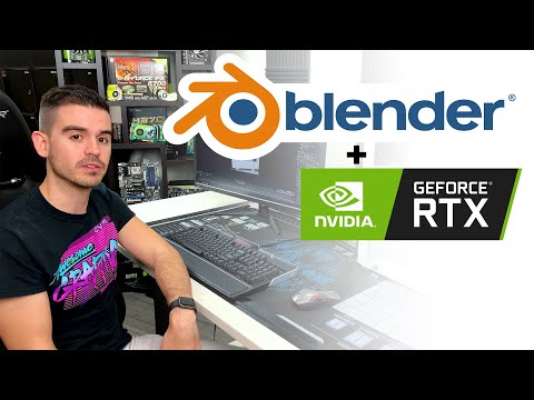 Blender + RTX - How To Speed Up Blender Rendering With GeForce RTX