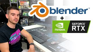 Blender RTX How to speed up Blender rendering with GeForce RTX