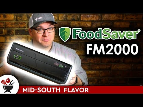 FoodSaver FM2000: First