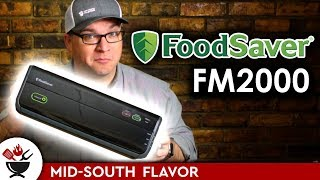 FoodSaver FM2000: First time using a vacuum sealer!