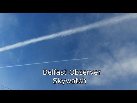 Weather Modification Over Belfast Northern Ireland