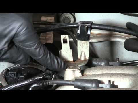 xterra knock sensor relocation p0325 code - YouTube