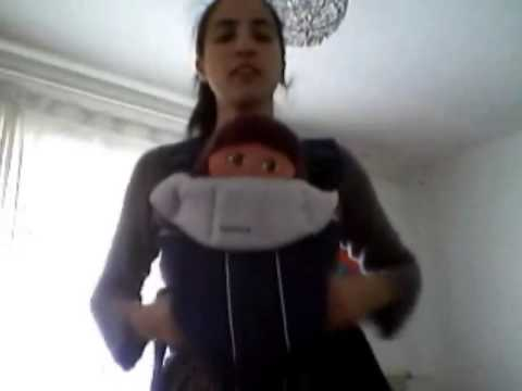 218a3eefc342 Porte bébé Babybjörn (original)   ATTENTION NON PHYSIOLOGIQUE - YouTube