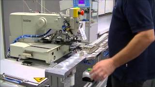 SEWING AUTOMATION: Semi-automated RSG sewing-station for lashings