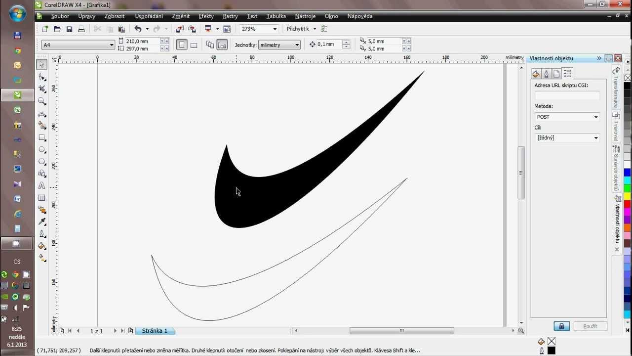 how to draw nike logo in corel draw youtube rh youtube com