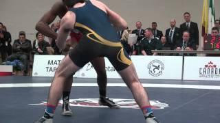2015 JR CDN NAT FS60kg Dillon Williams (Impact) vs Chris McIssac (Mariposa)