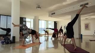 Little insight of my YogaRetreat 2019 doing Insideflow Yoga every d...