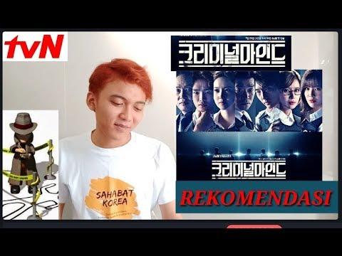 Drama Korea CRIMINAL MINDS, Kejahatan Yang Harus Mikir !?
