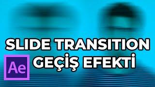 Geçiş Efekti kolayca nasıl yapılır After Effects Dersleri Slide Transition