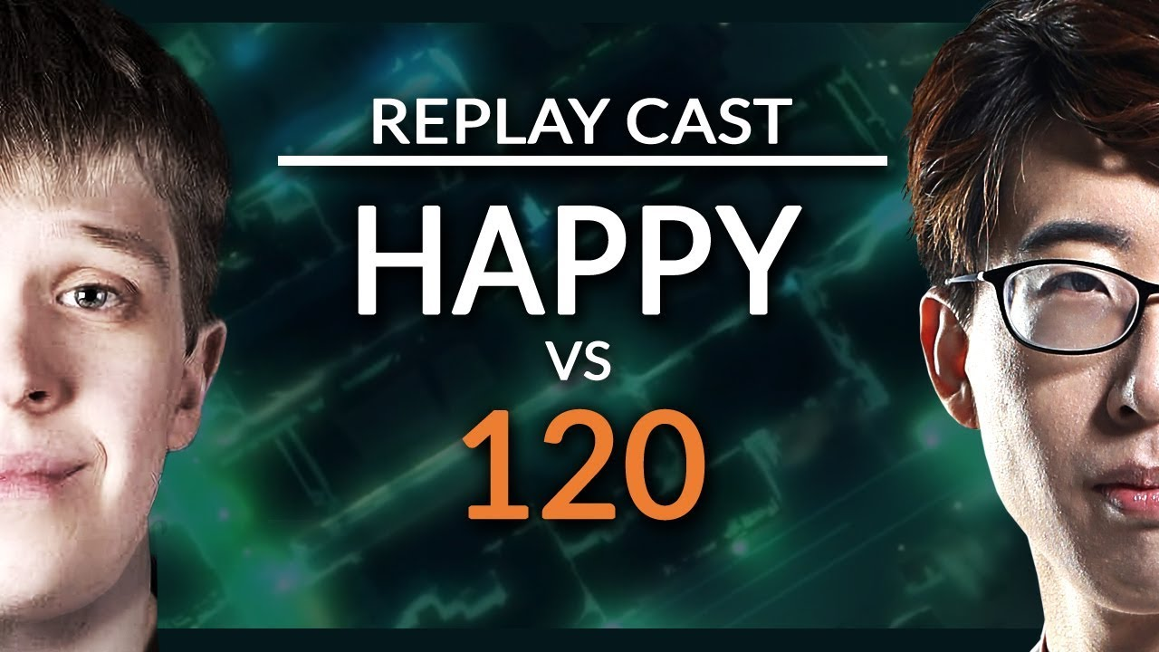 [U] Happy vs. 120 [U] – NetEase Replay Cast