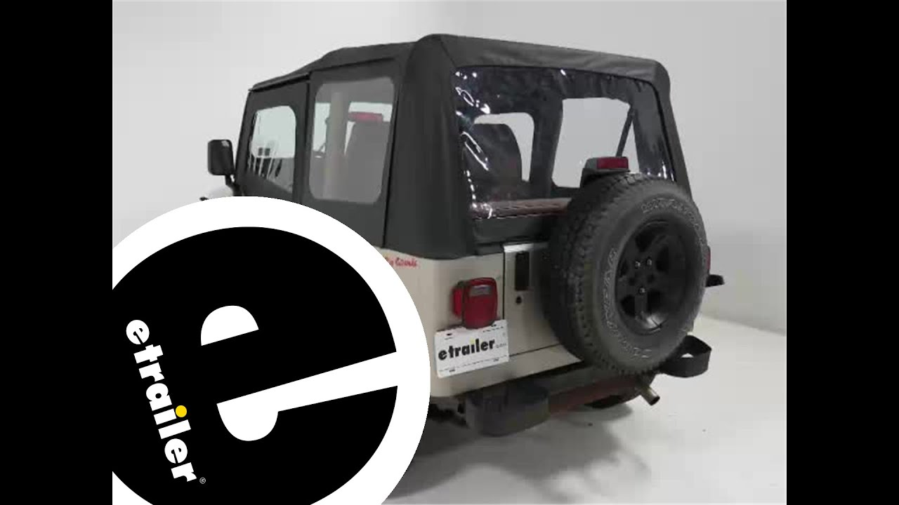 Review Rampage Complete Soft Top Kit For Jeep Ra68115   Etrailer.com