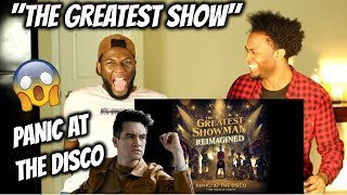 Panic! At The Disco - The Greatest Show   Lyric Video   Reaction