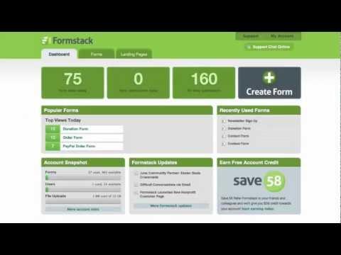 Online Form Builder   Formstack