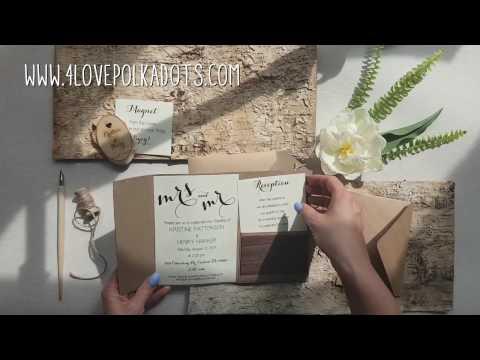 wooden wedding invitations, wedding ideas