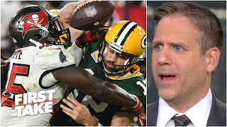 Max Kellerman blames Aaron Rodgers for the Packers' loss to the Bucs | First Take