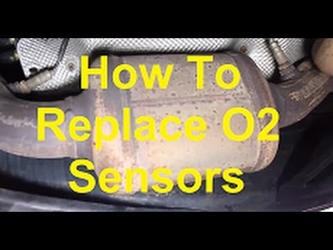 hqdefault how to replace oxygen o2 sensors on your car youtube 2011 Malibu Wiring Diagram at soozxer.org