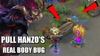 Download Video USING BUG TO PULL THE REAL BODY OF HANZO MP3 3GP MP4