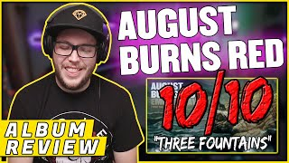 """AUGUST BURNS RED - """"Three Fountains"""" Guardians (REACTION/ ALBUM REVIEW)"""