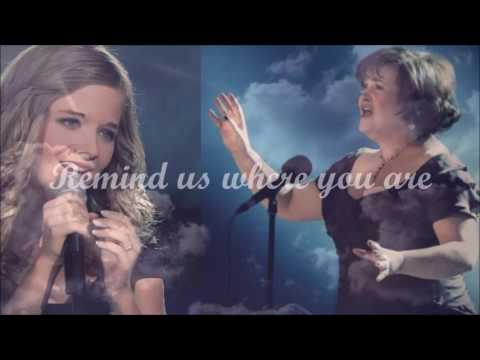 """Susan Boyle - Susan And Jackie Evancho """" A Mother's Prayer """""""