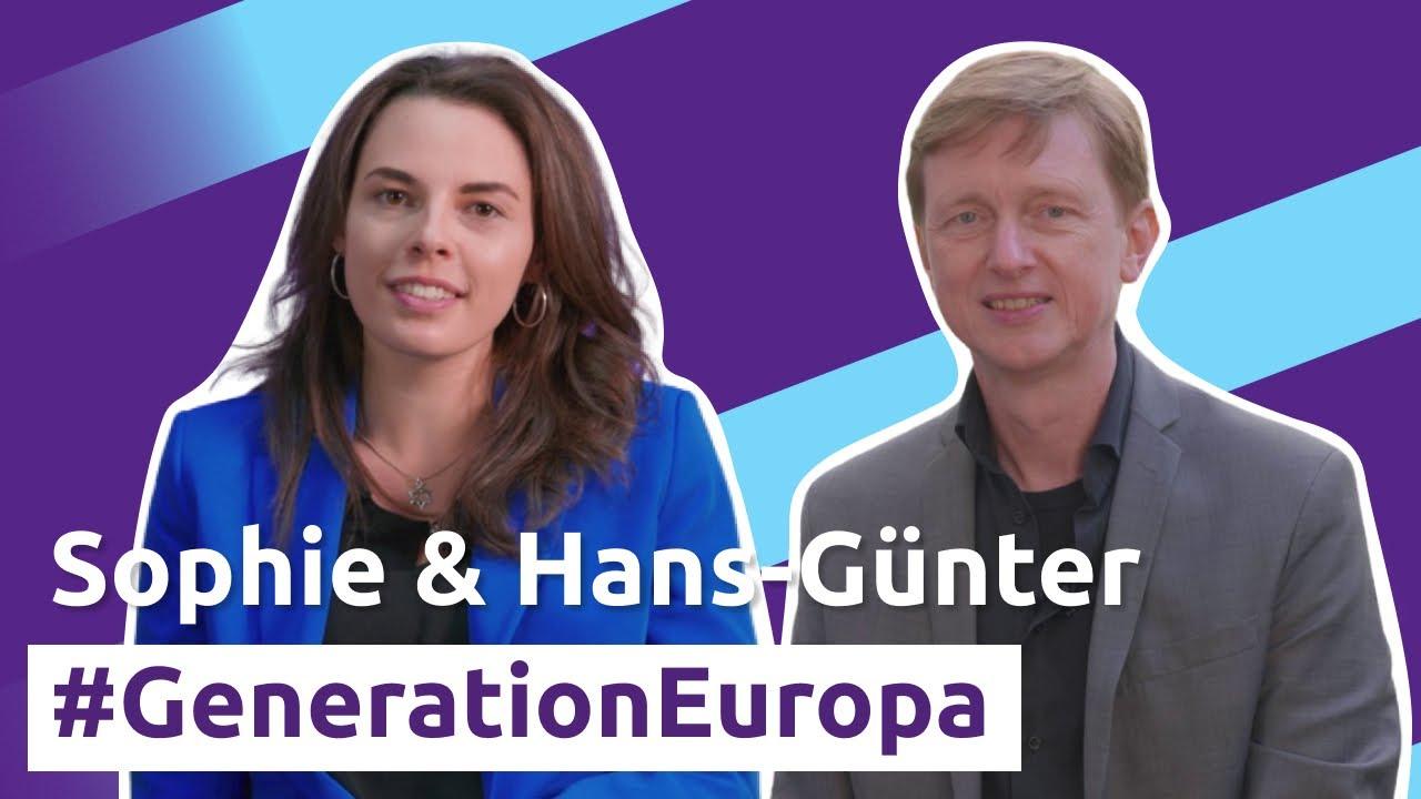 YouTube: Über Bürger*innenbeteiligung notwendige EU Reformen | Sophie Griesbacher & Hans-Günter Brünker