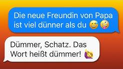 40 WhatsApp CHATS zwischen ELTERN und KINDERN!