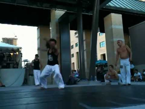 Tae Kwon Do vs. Capoeira - Canada Day July 1st 2012