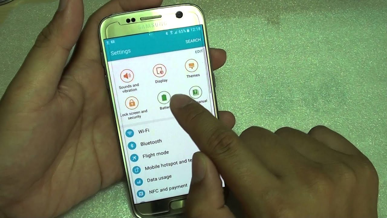 Samsung Galaxy S7: How to Get WPS PIN For Wi-Fi Router