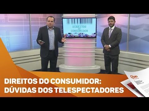 Quadro Direitos do Consumidor: dúvidas dos telespectadores - TV SOROCABA/SBT