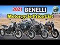 Magkano Ang Motor Ng Benelli?   2021 Benelli Motorcycle Price List