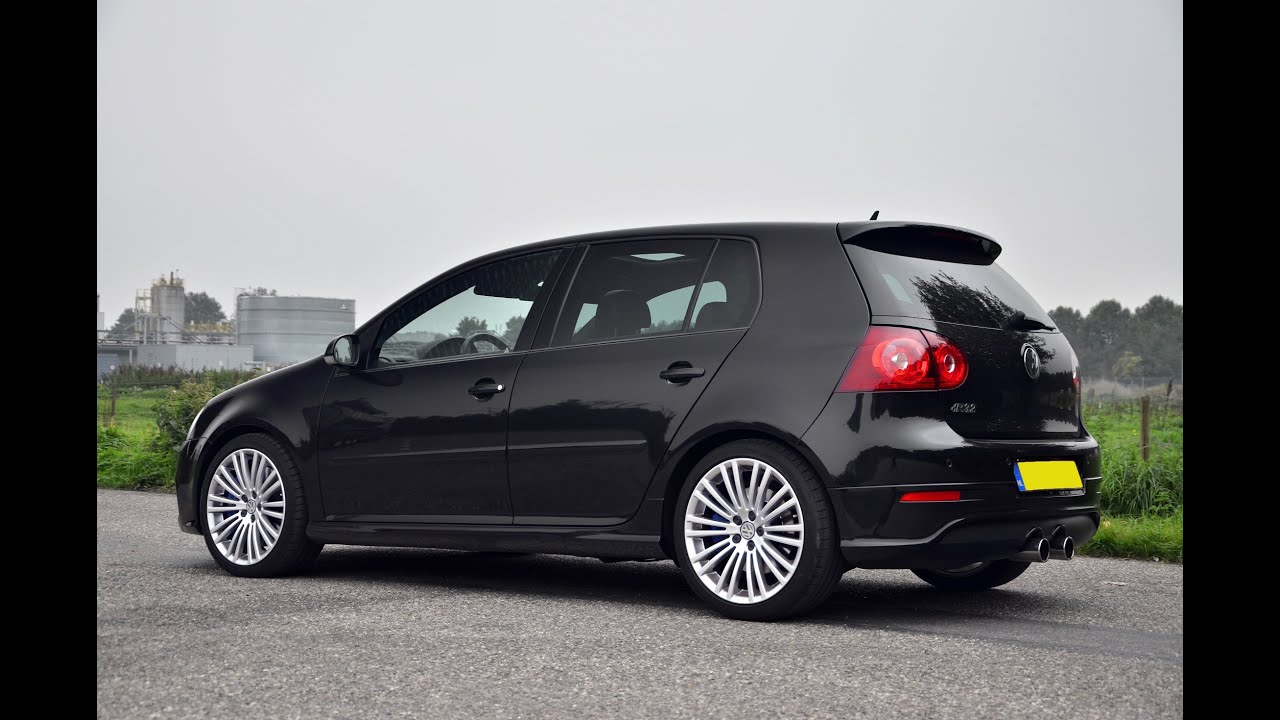 volkswagen golf v r32 vr6 dsg pure sound stock exhaust. Black Bedroom Furniture Sets. Home Design Ideas
