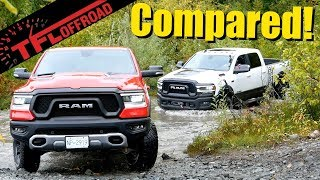 We Drive the Ram Rebel and Power Wagon Up a Mountain to Find the Better Truck!