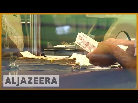 🇮🇷 Iran currency halves in less than a year | Al Jazeera English