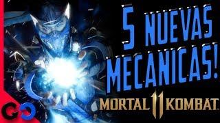 Mortal Kombat 11: 5 NUEVAS Mecánicas de Gameplay!!!