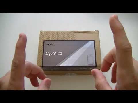 Acer Liquid Z3 (Z130) - déballage   par Top-For-Phone.fr