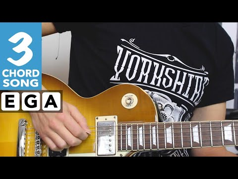 Let Me Entertain You - Robbie Williams Guitar Lesson - EASY Rock Songs On Guitar!
