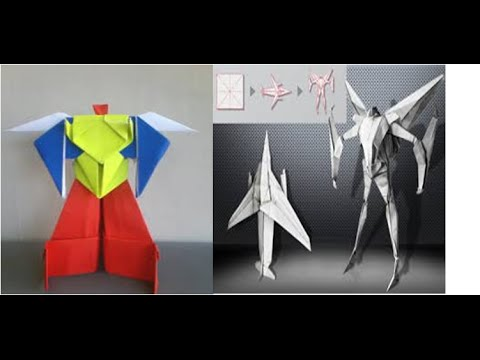 Origami Robot Power Ranger Origami Robot Transformer How To Make