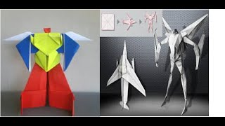 vuclip Origami Robot Power Ranger & Origami Robot Transformer | How to Make Origami Paper