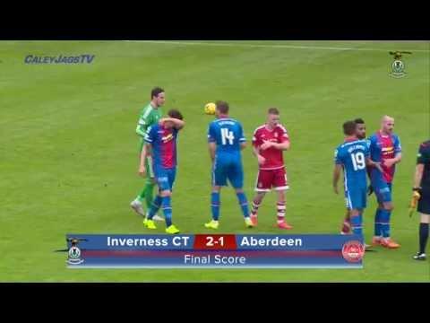 CaleyJagsTV : Inverness CT v Aberdeen Highlights, 26/09/2015