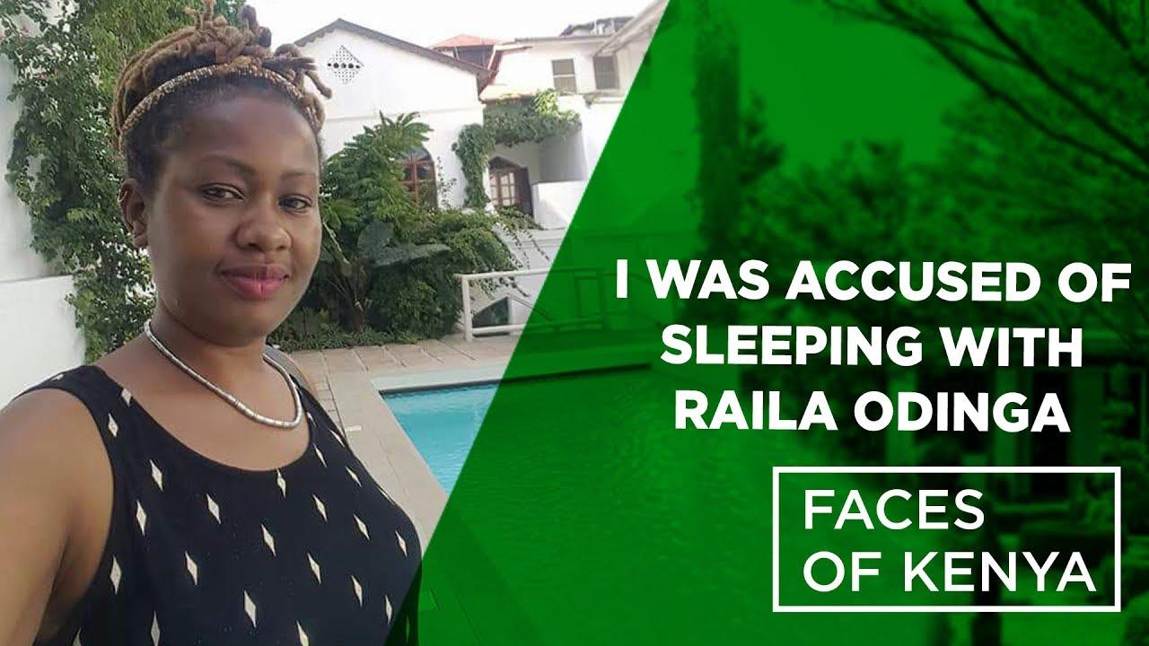 I was accused of sleeping with Raila Odinga