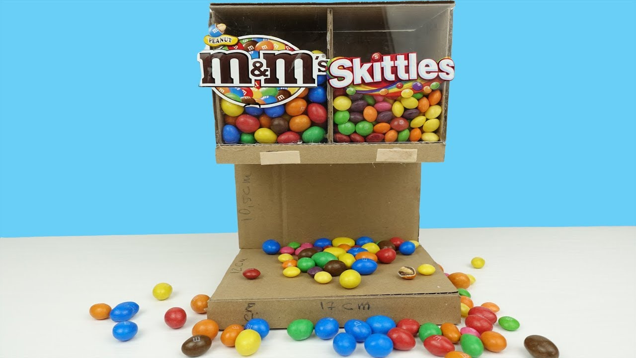 How To Build Candy Dispenser