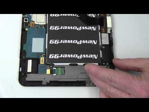 How to Replace Your Samsung GALAXY Tab 8.9 GT-P7320T Battery