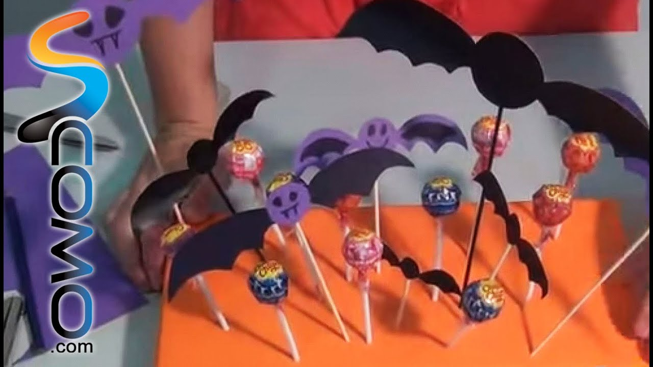 Decoracion Halloween Economica ~ Centro de mesa para Halloween  YouTube