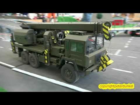 RC HOBBY  #SAURER 10DM #GOTTWALD KRAN #SWISS ARMY SEVELEN MODELLBAU