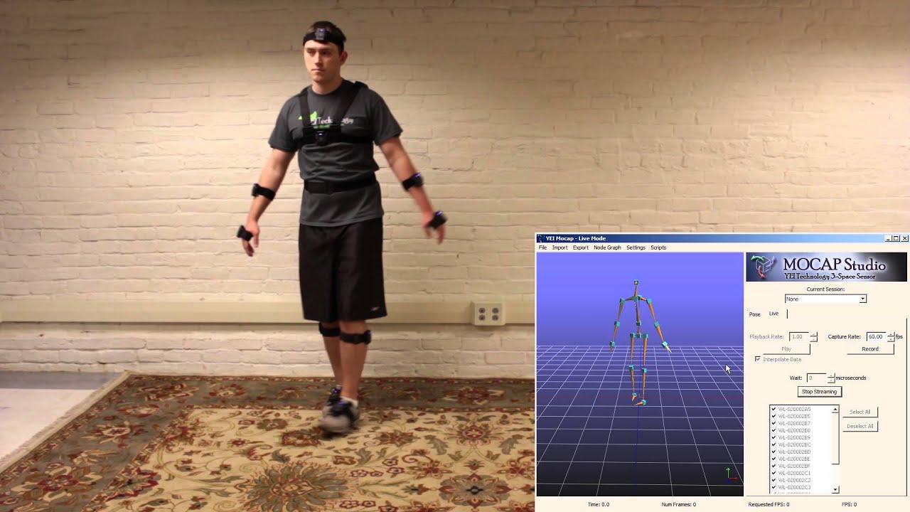Yost Labs 3-Space Mocap Studio - Yost Labs