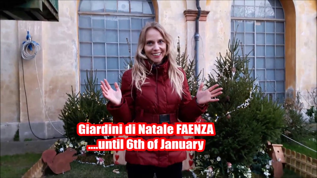 Faenza Giardini Di Natale 2016 Youtube