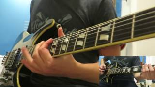 avenged sevenfold unholy confessions guitar cover both guitars