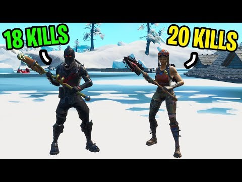 I met a Season 2 player and we got our HIGHEST kill game ever in Fortnite...