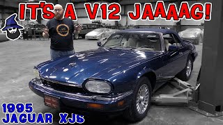 It's another smooth running V12 Jaaaaag in the CAR WIZARD's shop! Check out this 1995 Jaguar XJS