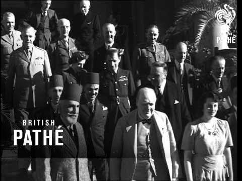 Churchill, Roosevelt In Turkey (1943)